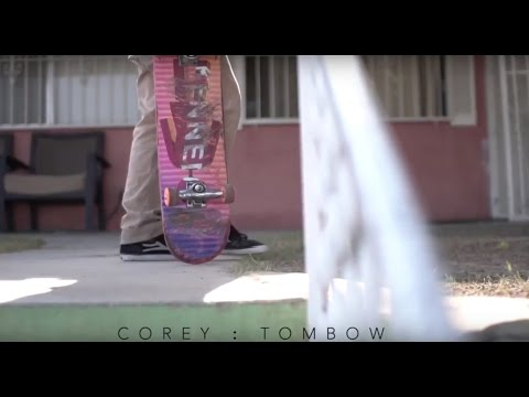 Corey Tombow - TheSkateboardMag Minute
