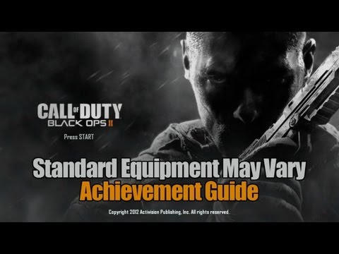 Call of Duty: Black Ops 2 - Standard Equipment May Vary Guide