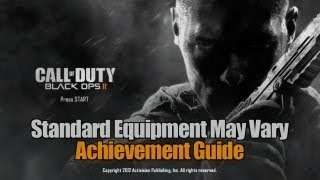 Call of Duty_ Black Ops 2 - Standard Equipment May Vary Guide