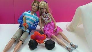 Cuộc Sống Barbie & Ken (Tập 2) Barbie & Ken Đi Cắm Trại / Barbie & Ken Camping Trip Play- Doh Tent