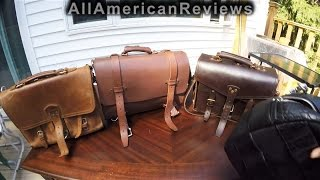 Saddleback Leather vs Kendal & Hyde vs Marlondo vs HoldFast Gear Leather Bag Review