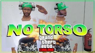 GTA 5 Online - BEST No Torso No Arms Glitch! Invisible Body! GTA 5 Glitches!