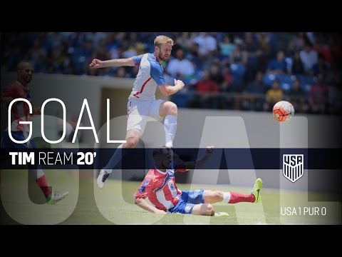 MNT vs. Puerto Rico: Tim Ream Goal - May 22, 2016