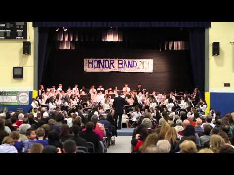 2014 Mid-Hudson Valley Catholic School Wind Ensemble Honor Band - Fanfare and Triumph - 03/19/2014