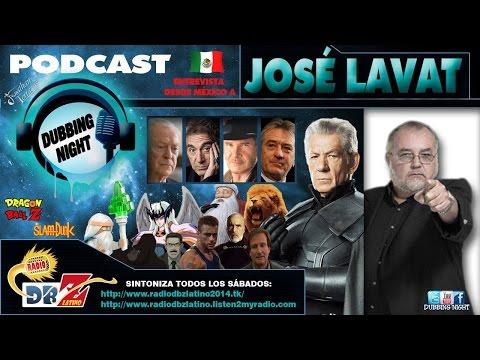 Entrevista a José Lavat en Dubbing Night - Radio DBZ Latino