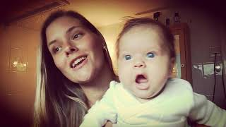 """Baby Laughing - """"Piece by Piece"""" - Kelly Clarkson   Cover"""
