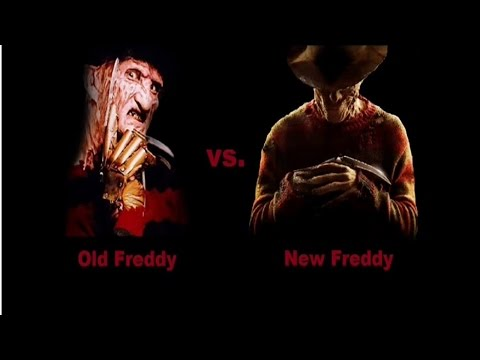 Old Freddy vs. New Freddy
