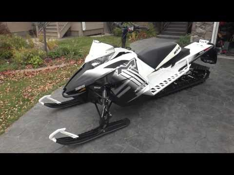2014 Arctic Cat M8000 LTD 153 w/Evolution Powersports