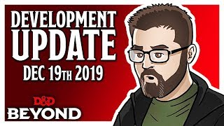 D&D Beyond Dev Update - New Encounter Tracking Demo, Updates & More