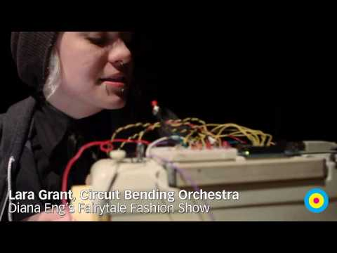 Circuit Bending Orchestra: Lara Grant at Diana Eng's Fairytale Fashion Show, Eyebeam NYC / SML