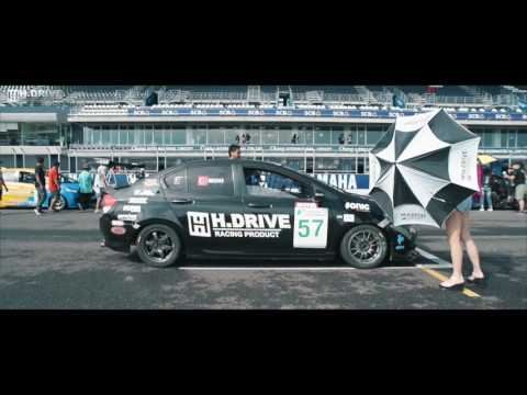 Honda City  Round 3-4 Thailand super series 2016 By H.drive racing team