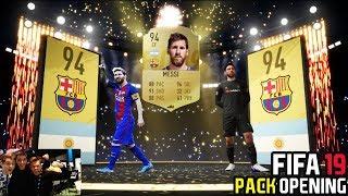 NU-MI VINE SA CRED L-AM CASTIGAT PE LIONEL MESSI - FIFA 19 PACK OPENING