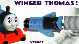 Thomas & Friends Toy Trains NEW Winged Thomas Accident Episode Story Family Fun ToyTrains4u