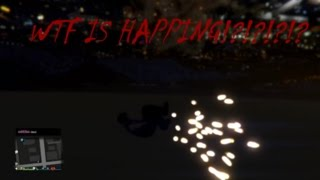 GTA 5 Online Getting Blown Threw The Map