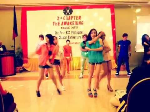 [130406] Beau, Hachi'x & Intensity5 At The First Exo Philippines Mindanao Anniversary Gathering video