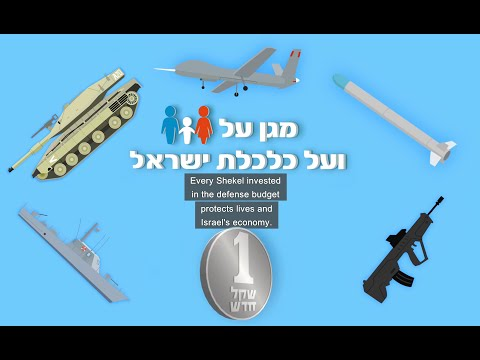 Israeli Ministry of Defense presents: What's the connection between security and the economy?