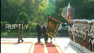 Iran: Iraqi PM al-Abadi welcomed in Tehran ahead of security talks