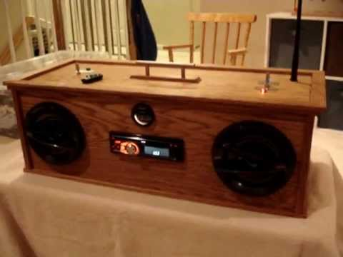 Car Audio Homemade Boombox