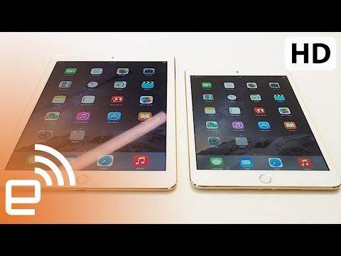First look: iPad Air 2 and iPad Mini 3 | Engadget