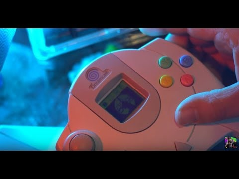 Play a Sega Dreamcast Game using the VMU - Silent Scope Review for Sega Dreamcast