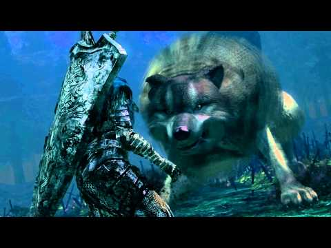 Dark Souls: Sif, The Great Grey Wolf + Remembrance Cutscene