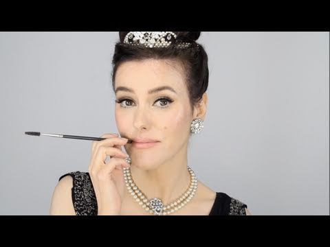 Audrey Hepburn - Breakfast at Tiffany s Inspired Makeup Tutorial