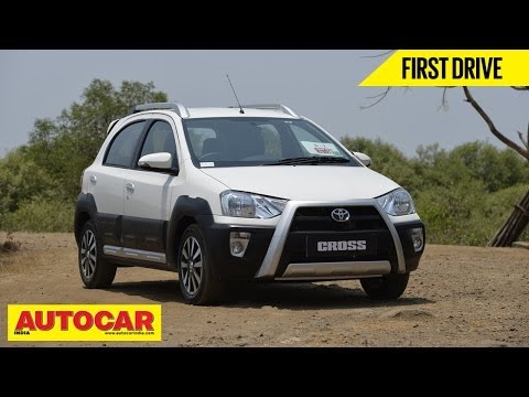 Toyota Etios Cross   First Drive Video Review   Autocar India