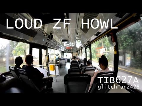 [SMRT] Mercedes Benz O405 TIB627A Very Loud ZF Howls