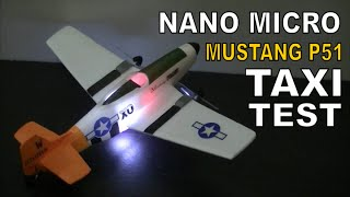 RC HELI CONVERTED TO PLANE # TAXI TEST
