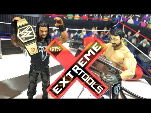 GTS WRESTLING: EXTREME TOOLS! WWE Figure Animation PPV Event!