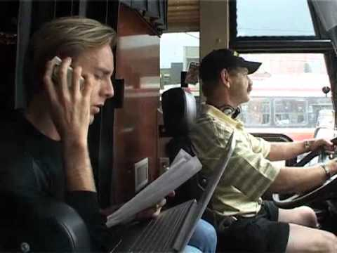 Richie Hawtin & Magda North American Bus Tour 2006 Music Videos