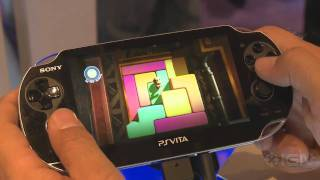 LittleBigPlanet Vita - E3 2011_ Creation Gameplay Off-Screen