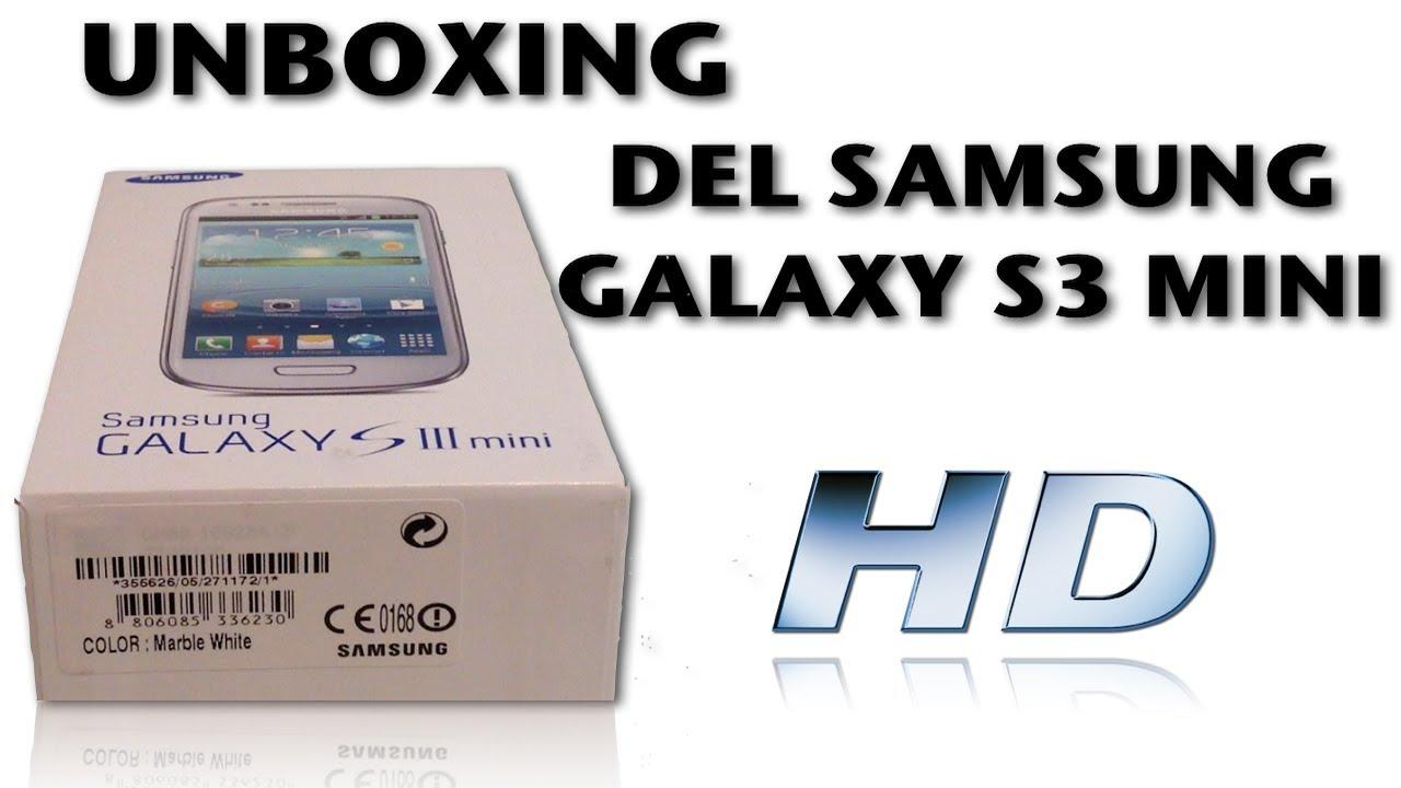 unboxing samsung galaxy s3 mini espa u00d1ol hd youtube Camera Samsung Galaxy S3 Manual Camera Samsung Galaxy S3 Manual