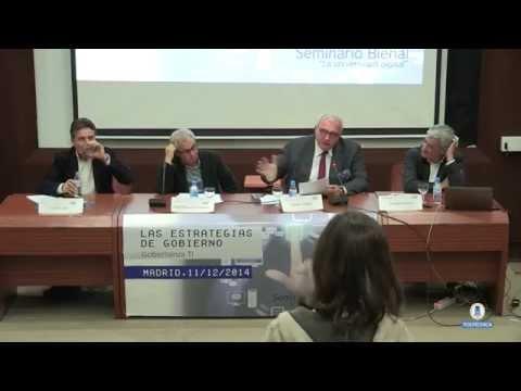 Las estrategias de gobierno. Gobernanza TI: Mesa redonda 2 - Debate (9/10)