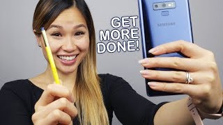 Galaxy Note 9 - 7 Useful S PEN Features For Work!