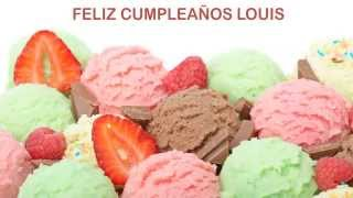 Louis   Ice Cream & Helados y Nieves - Happy Birthday