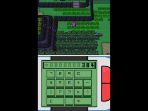 Pokemon Platinum (US Version) Action Replay Codes Part 3 (BP. Pkm Modifier. Full Pokedex Codes...)