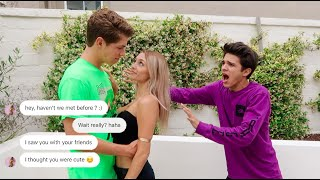 "CATFISHING my Little Sister's ""Boyfriend.."" (YOU WONT BELIEVE THIS) 