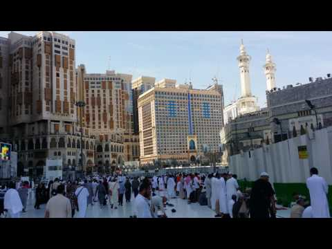 Beautiful adhan azan outside Makkah ( Maqam Hijaz)