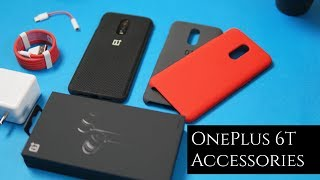 OnePlus 6T Official Accessories - Cases, Adapters, Type-C Bullet Earphones, Nylon Bumper Case