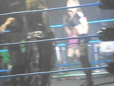 TNA Impact Live inDublin February 2014 Velvet Sky, Madisson Rayne, Gail Kim