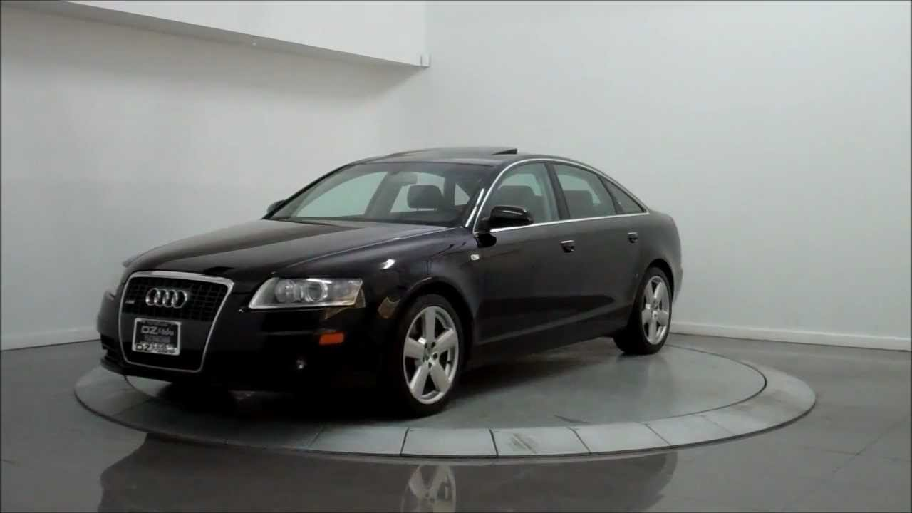 2008 audi a6 3 2 quattro s line youtube. Black Bedroom Furniture Sets. Home Design Ideas