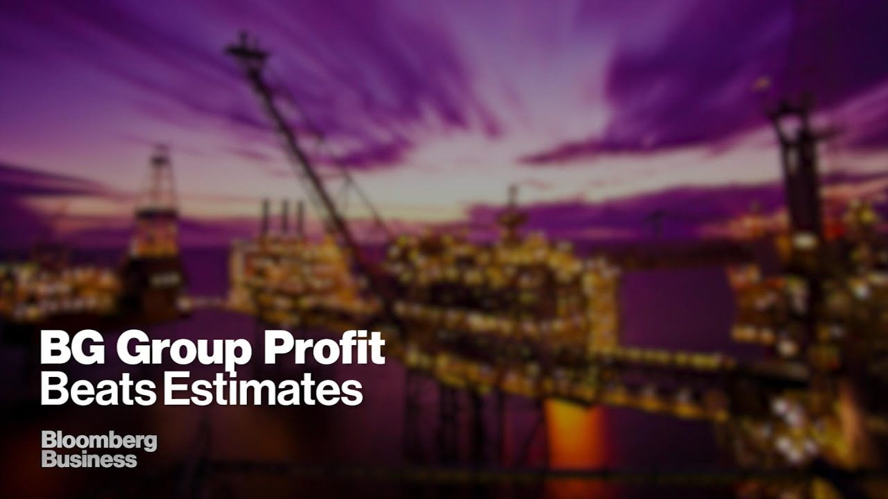 BG Group Second-Quarter Profit Declines 65%