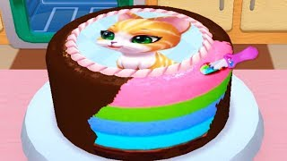 Play Fun Cake Maker Kids Cooking Game | Bakery Empire Baby Learn Colors Bake, Decorate, Serve Cakes