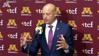 P.J. Fleck Talks Contract Extension