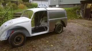 Vw bug sedan delivery project