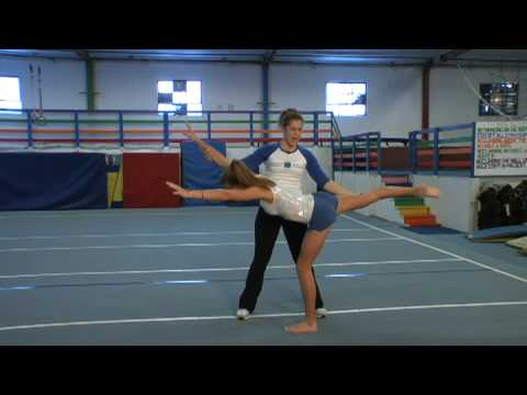 Gymnastics & Tumbling : How to Do a Handstand