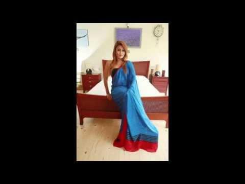 Sri Lankan actresses in blue