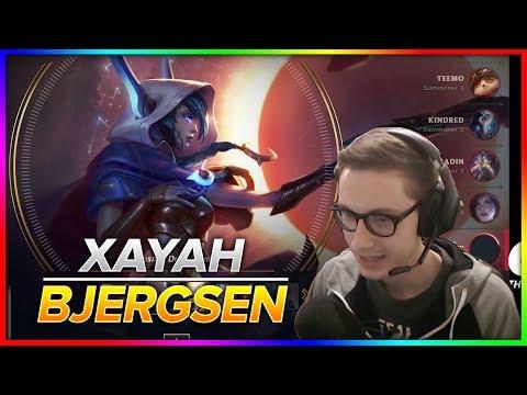 732. Bjergsen - Xayah vs Kai'Sa - S8 Patch 8.20 - NA Challenger - October 18th, 2018