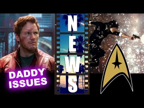 Guardians of the Galaxy 2 w/ Star Lord's Father, Sofia Boutella in Star Trek 3 - Beyond The Trailer